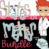 States of Matter Bundle (Study Guide, Assessment, Task Cards, & Activities)