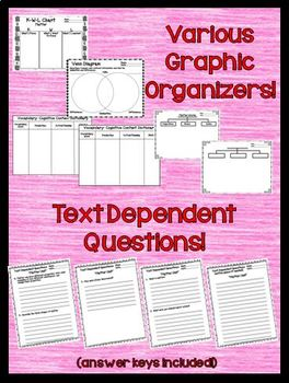 States of Matter Bundle with Text Dependent Questions for CLOSE Reading
