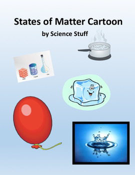 States of Matter Cartoon