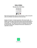 States of Matter - Characteristics Unscramble Group Activity