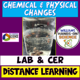 States of Matter/Chemical & Physical Changes Dancing Raisins Lab and C.E.R.