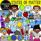States of Matter Clipart {Creative Clips Clipart}