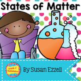 States of Matter - Close Reading, Response Pages, Crafts & Experiments!