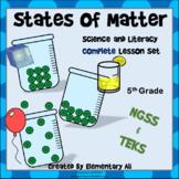 States of Matter: Complete Lesson Set Bundle (TEKS & NGSS)