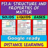 Distance Learning MS-PS1: States of Matter Worksheet Onlin