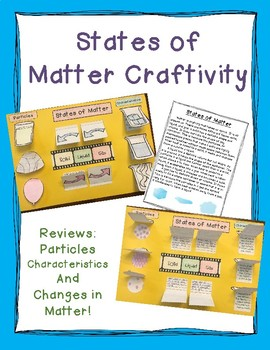 States of Matter Craftivity