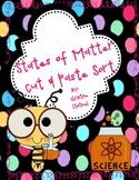 States of Matter Cut & Paste Sort