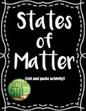 Matter Activity