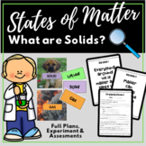 States of Matter - Day One - Preassessment, Read Aloud, AS
