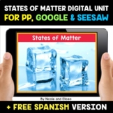 States of Matter Digital Activities for Google and Seesaw