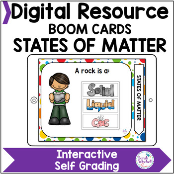 Matter and its Interactions NGSS 2-PS1-1 2-PS1-2 2-PS1-3 2-PS1-4 Boom Cards