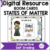 States of Matter Boom Cards Digital Activity Distance Learning