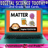 States of Matter Digital Science Toothy ® Task Cards | Dis