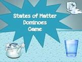 States of Matter Dominoes Game