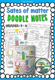 "States of Matter ""Doodle Notes"""