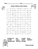 States of Matter / Estados de la Materia Wordsearch