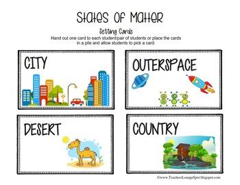 States of Matter FREEBIE!
