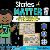 States of Matter FREEBIE! (Sorting States of Matter)