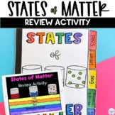 States of Matter Flip Book Review Activity: Solids, Liquid