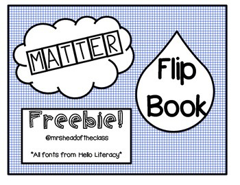 FREEBIE! States of Matter Flipbook