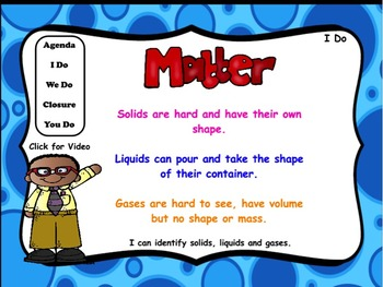 States of Matter: Flipchart and Worksheets