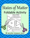 States of Matter Foldable Activity