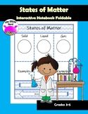 States of Matter Foldable for Interactive Notebook