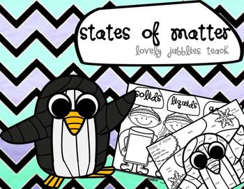 States of Matter: Fun Graphic Organizers