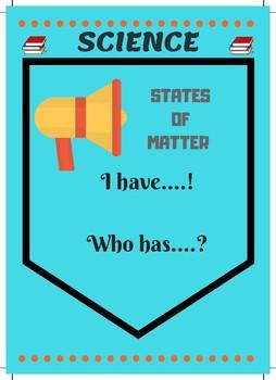 States of Matter - Game