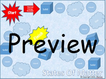 States of Matter Game (Upper Elementary)