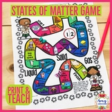 States of Matter Game with Frog-Solid, Liquid, Gas