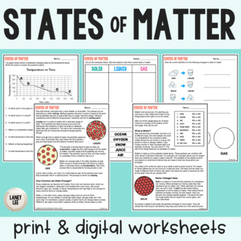 States of Matter - Guided Practice