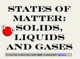 States of Matter & How they Change PowerPoint