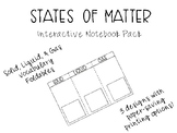 States of Matter INB Activity