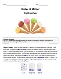 States of Matter- Ice Cream Lab