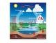 States of Matter Identification Worksheet - large print, water cycle poster