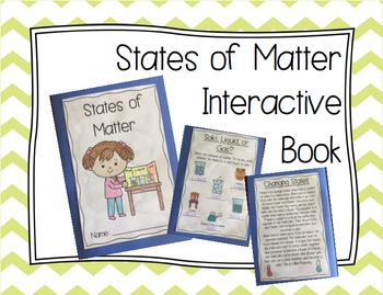 States of Matter Interactive Book