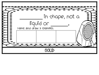 States of Matter Interactive Flip Book, Posters, and Sorting Cards
