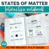 States of Matter Interactive Notebook PRINT & DIGITAL