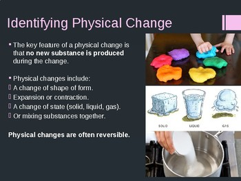 States of Matter (Intro to Chemistry) Presentation - Grades 7-9