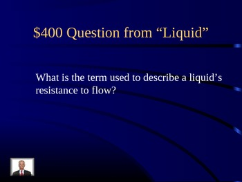 States of Matter Jeopardy Review Game on Powerpoint