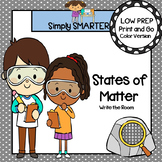States of Matter:  LOW PREP Write the Room