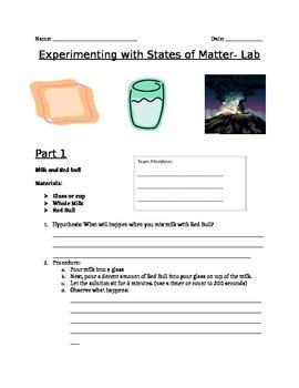 States of Matter Lab