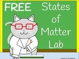 States of Matter Lab- Free!