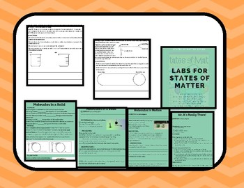 States of Matter (Labs and Assessment Prompt)