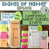 States of Matter Lapbook