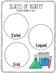 {2nd Grade} States of Matter - Lesson Plan & Activity