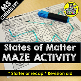 States of Matter Activity - MAZE