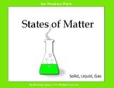 States of Matter:  Making Butter