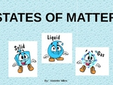 States of Matter - Matter Changing States Powerpoint